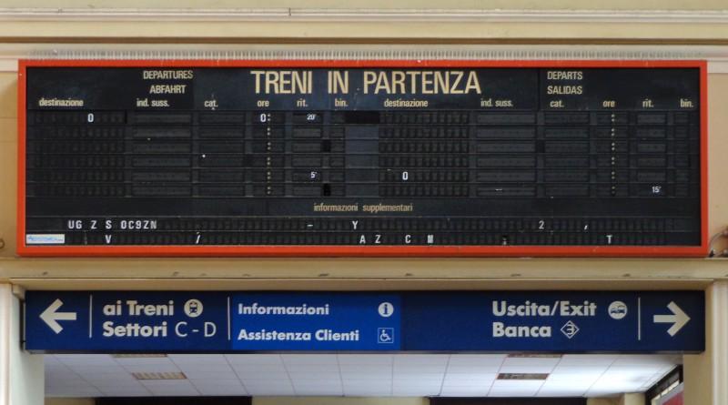 Sciopero treni 8 marzo 2016