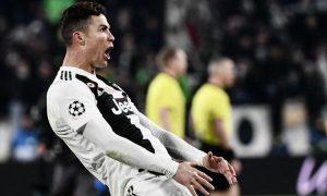 Cristiano Ronaldo gestaccio Juventus - Atletico Madrid